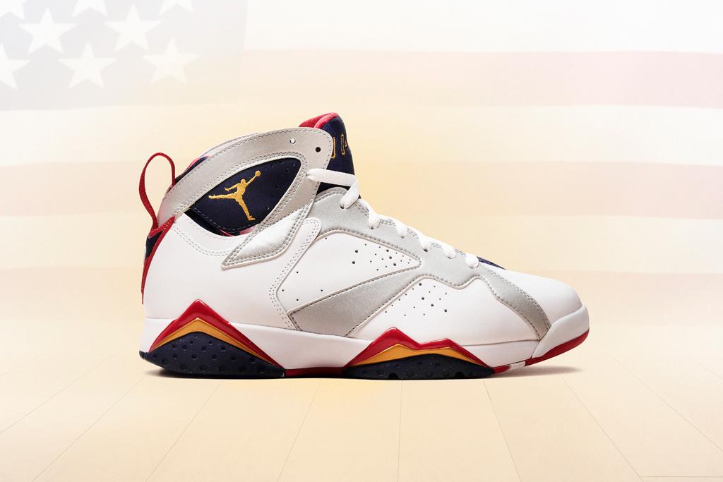 """Air Jordan 7 """"Olympic"""" Retro"""