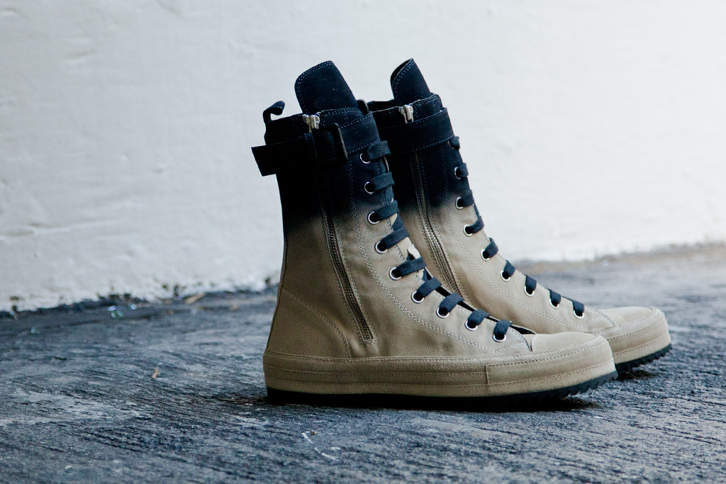 Ann Demeulemeester 2012 Fall/Winter Scamosciato Boots