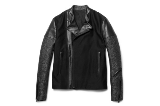 Balenciaga Panelled Slim-Fit Biker Jacket