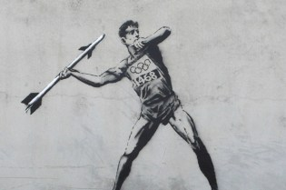 Banksy's Latest Works Take On the Olympics