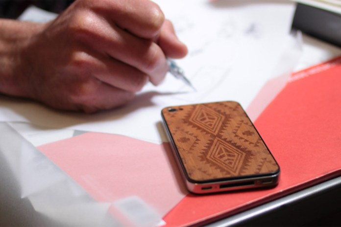 Benny Gold x Material6 Wood iPhone Backing