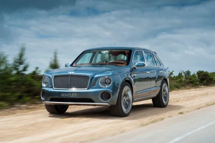 Bentley EXP 9 F SUV Video