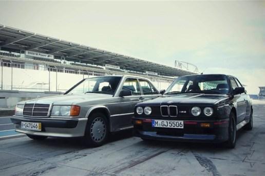 BMW E30 M3 vs. Mercedes-Benz 190E 2.3-16