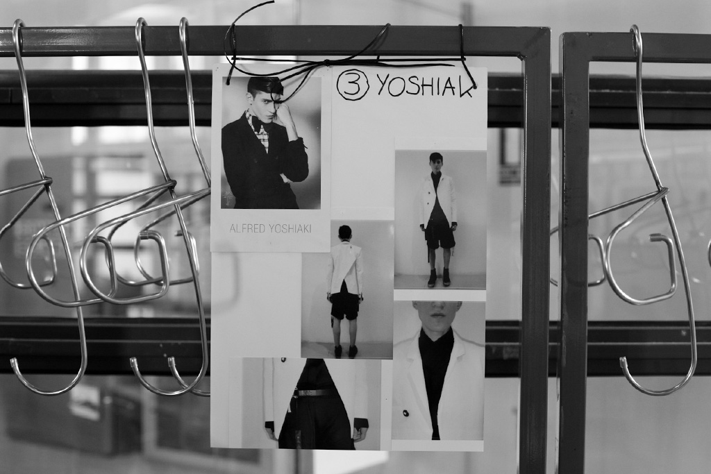 boris bidjan saberi 2013 spring summer backstage visuals interview