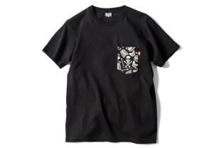 BOUNTY HUNTER BxH SKULL PATTERN Pocket T-Shirt