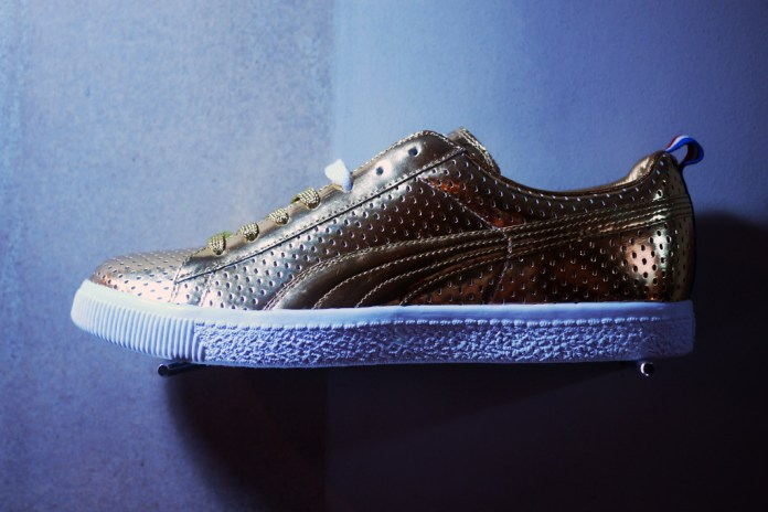 Bread & Butter: UNDFTD x PUMA 2013 Spring/Summer 24k Gold Clyde Preview