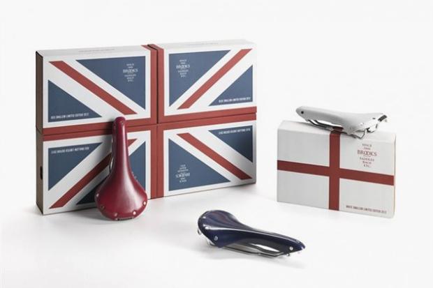 Brooks England Limited Edition Olympic Bike Seats