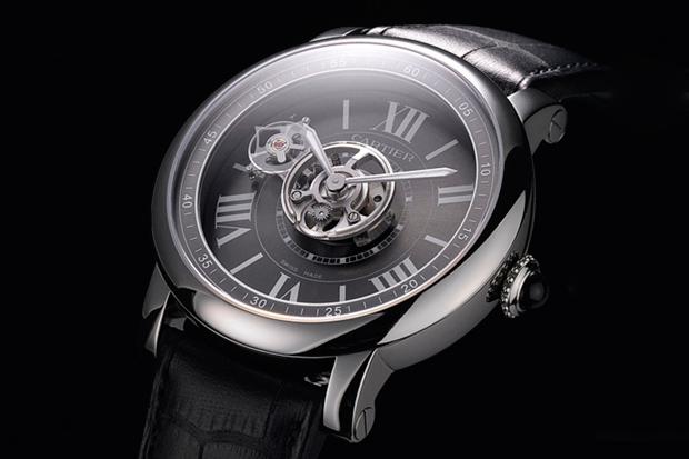Cartier Astrotourbillon Carbon Crystal Watch