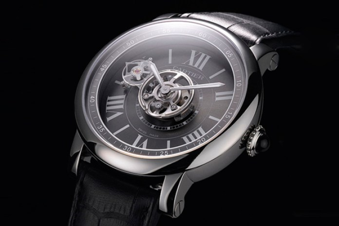 Cartier Astrotourbillon Carbon Crystal Watch