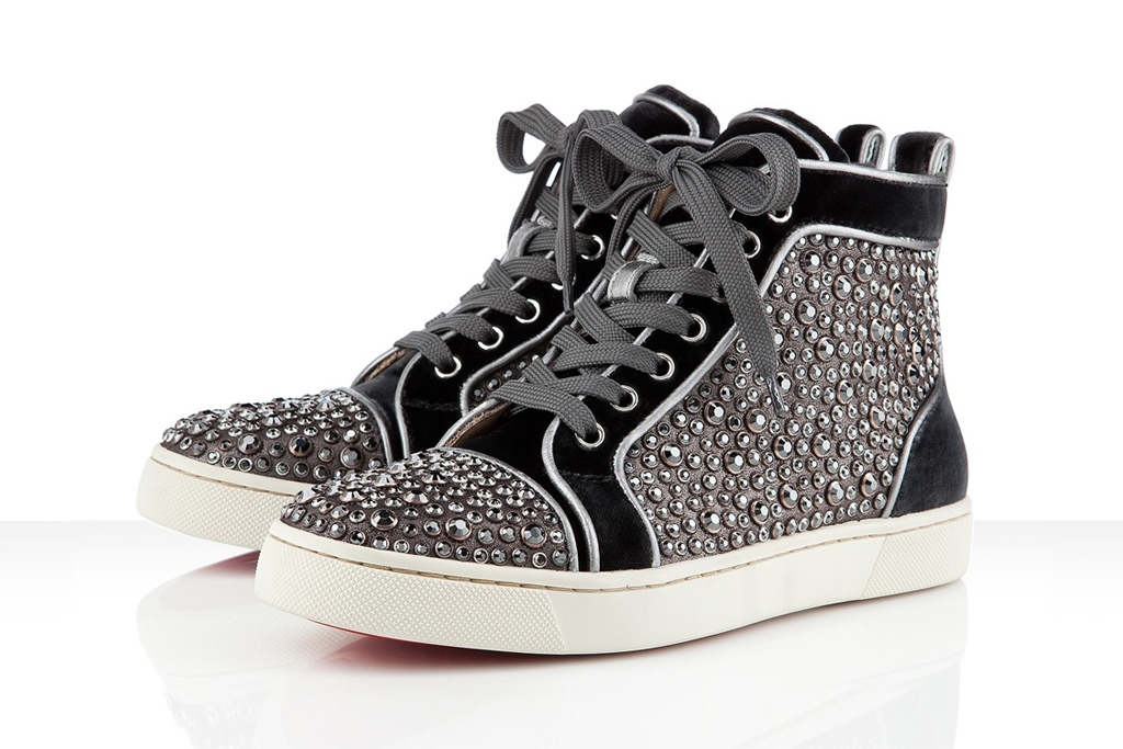 Christian Louboutin 2012 Boutique Exclusive Louis Ring Strass
