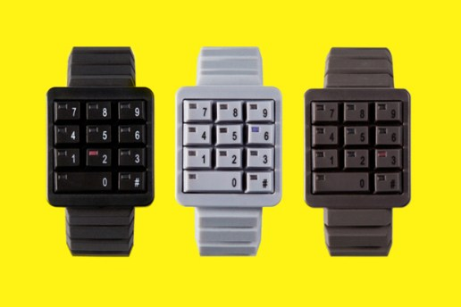 CLICK 2012 Spring/Summer KEYPAD Watch Collection