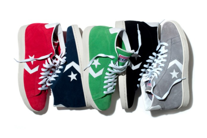 Converse 2012 Pro Leather Suede