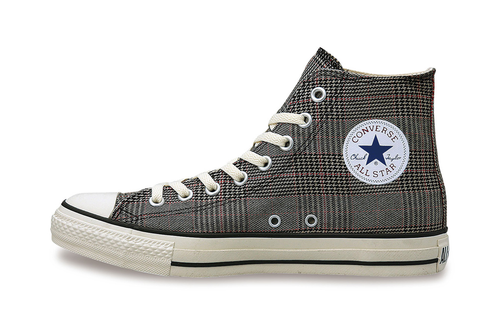 converse japan chuck taylor all star glen check hi