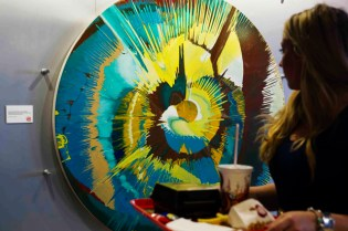 Damien Hirst Donates Original Spin Painting to Burger King