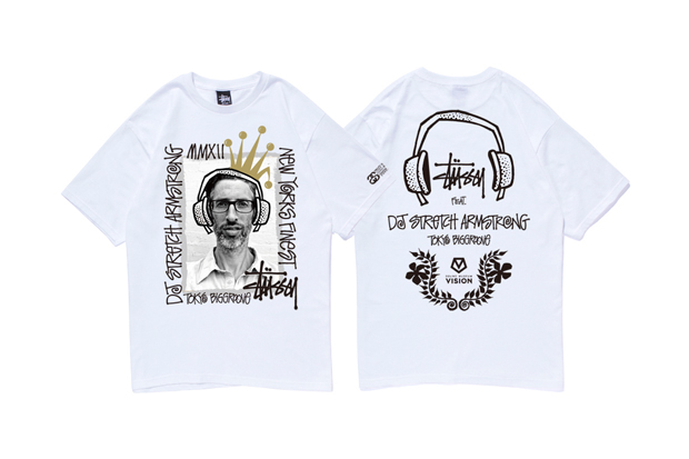 DJ Stretch Armstrong x Stussy T-Shirt Collection