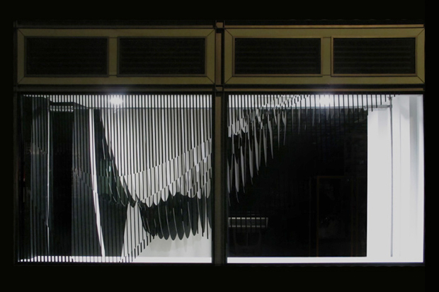 Dover Street Market Olympic Window by Zaha Hadid