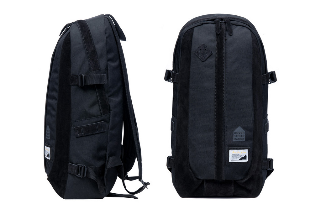 Dover Street Market x master-piece Nylon/Suede Backpack