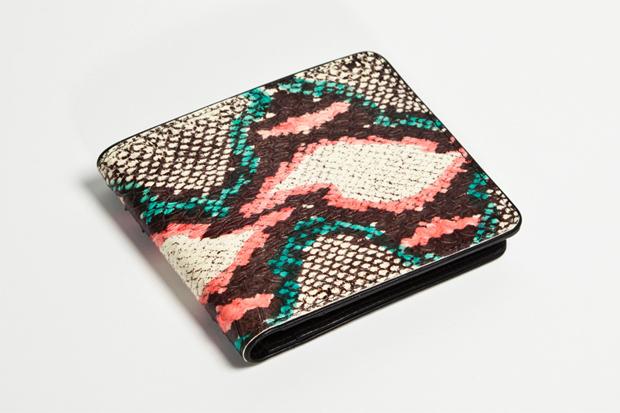 Dries Van Noten 2012 Water Snake Leather Accessories