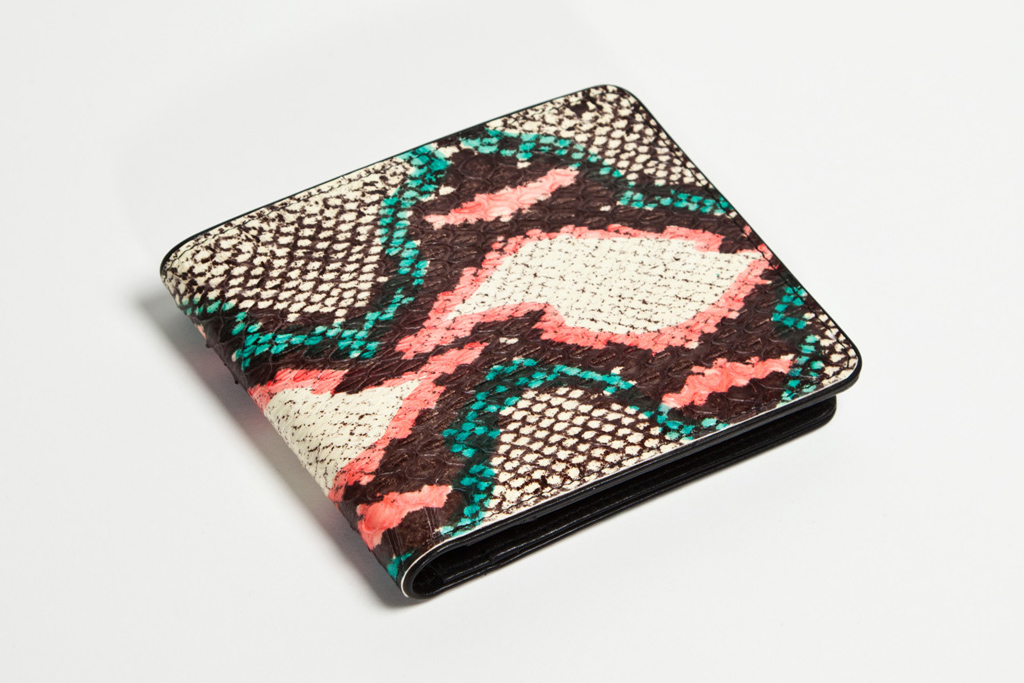 dries van noten 2012 water snake leather accessories