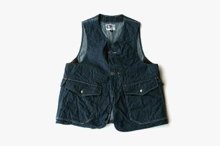 Engineered Garments 2012 Denim Upland Vest