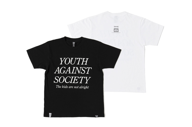 "Forty Percents Against Rights x TRAVERSE TOKYO ""YOUTH OF TODAY"" T-Shirt"