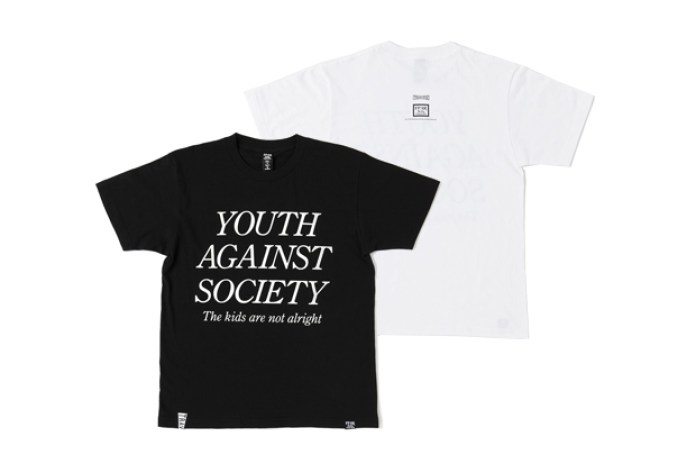 """Forty Percents Against Rights x TRAVERSE TOKYO """"YOUTH OF TODAY"""" T-Shirt"""