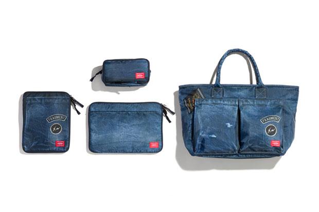 fragment design x Head Porter Denim Print Bag Collection