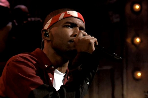 """Frank Ocean Performs """"Bad Religion"""" Live on Jimmy Fallon"""