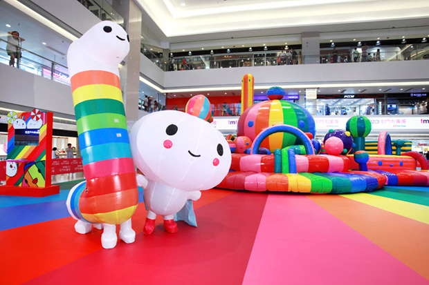 "FriendsWithYou ""Happy Rainbow"" Exhibition @ Tuen Mun Town Plaza"