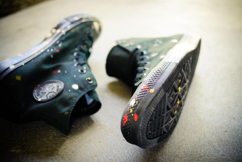 futura x hennessy custom converse chuck taylor box set