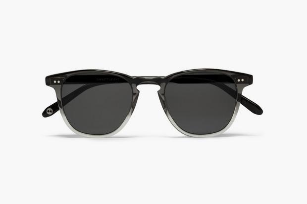 Garrett Leight California Optical D-Frame Two-Tone Sunglasses