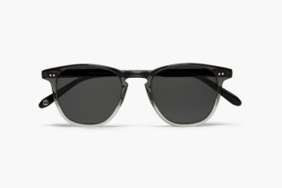 Garrett Leight California Optical D-Frame Two-Tone Sunglasses