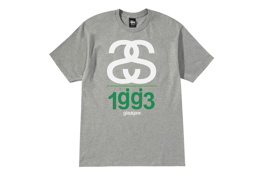 glassjaw x stussy new york tour t shirt