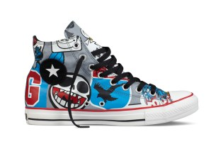 Gorillaz for Converse Chuck Taylor All Star Collection July Release