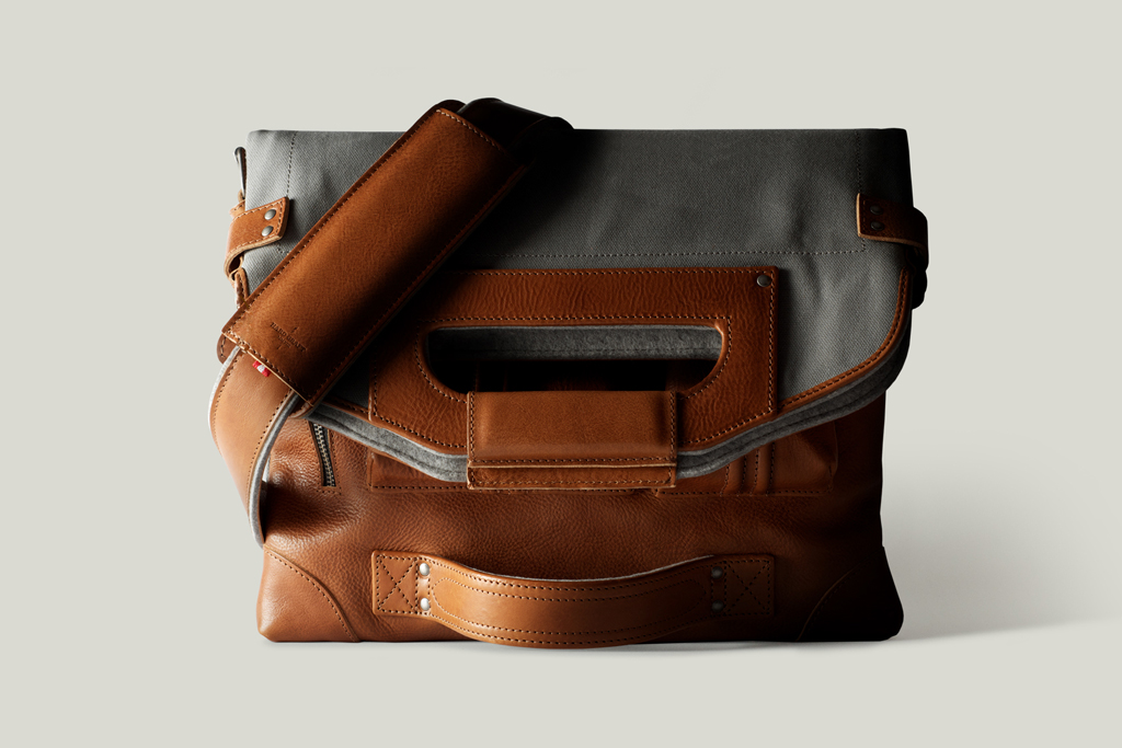 hard graft 2Unfold Laptop Bag / Shore