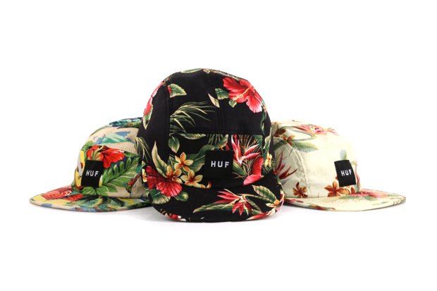 huf 2012 hawaiian print volley cap collection