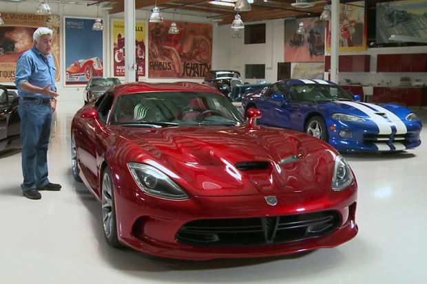 Jay Leno Previews the 2013 SRT Viper GTS