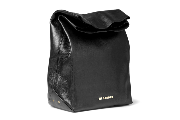 jil sander 2012 fall winter leather lunch bag
