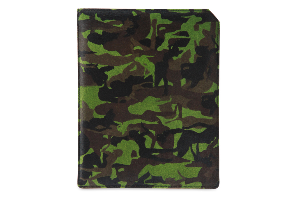 jimmy choo 2012 fall winter camouflage ipad case