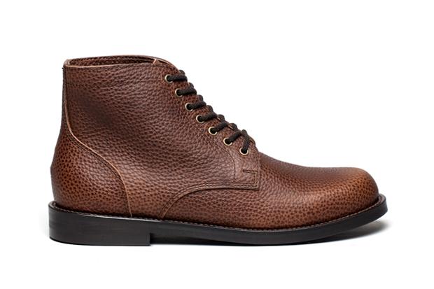 Junya Watanabe Pebble Grain Service Boot & Shoe