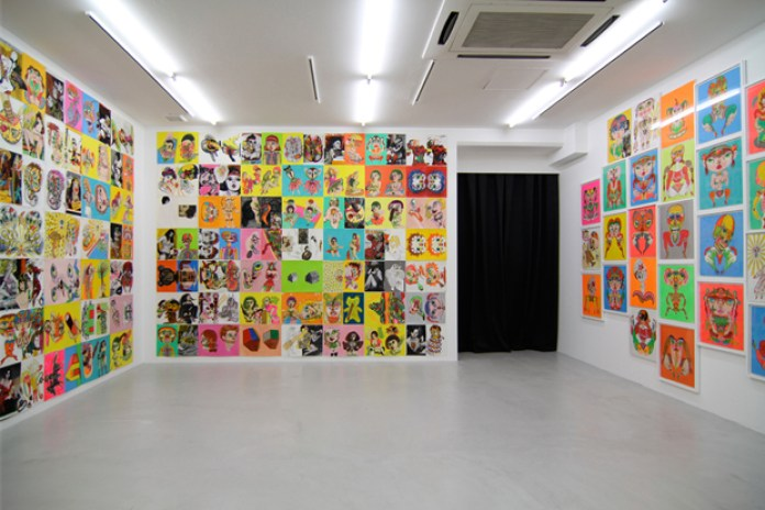 "Keiichi Tanaami ""New Animation and Drawings"" Exhibition @ NANZUKA Recap"