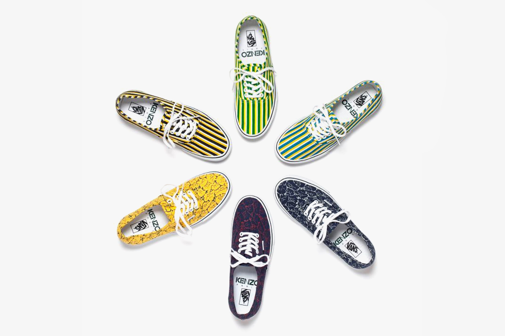 Kenzo x Vans 2012 Fall Preview