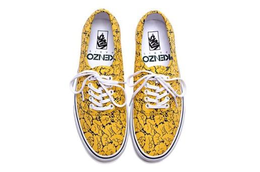 Kenzo x Vans 2012 Fall Footwear