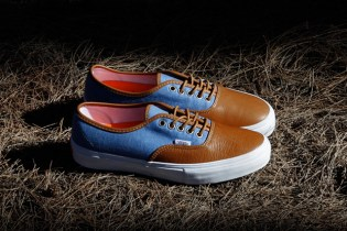 KICKS/HI x Vans Vault 2012 Fall Authentic LX