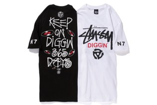 King of Diggin' Production x Stussy 2012 T-Shirt Collection