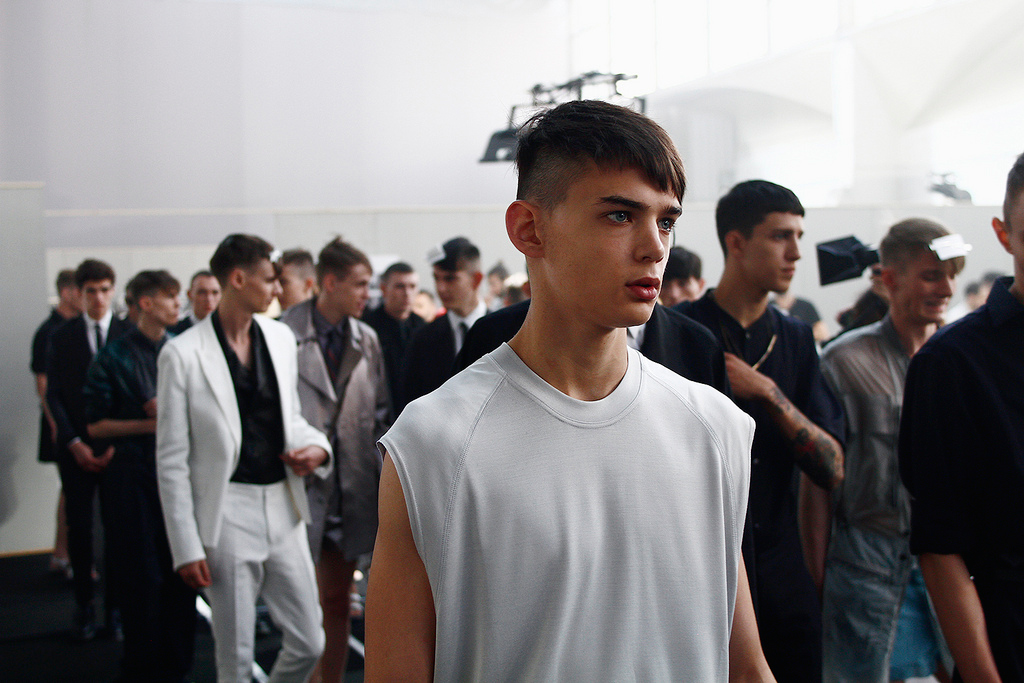 Lanvin 2013 Spring/Summer Behind-the-Scenes at Paris Fashion Week
