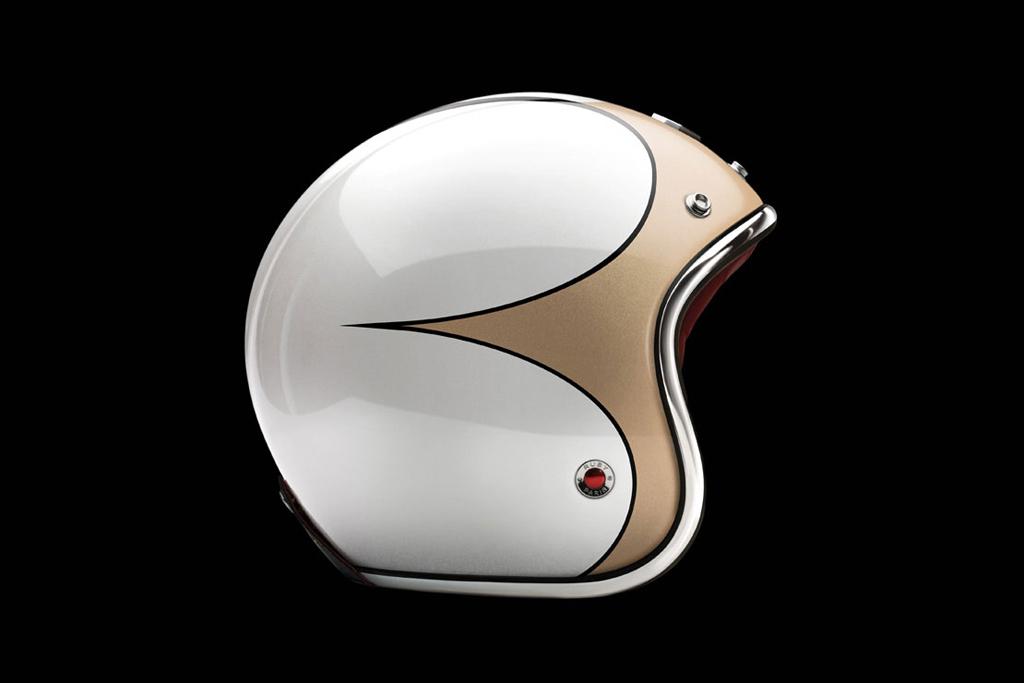 """Les Ateliers Ruby """"Trident"""" Pavillon Helmets"""