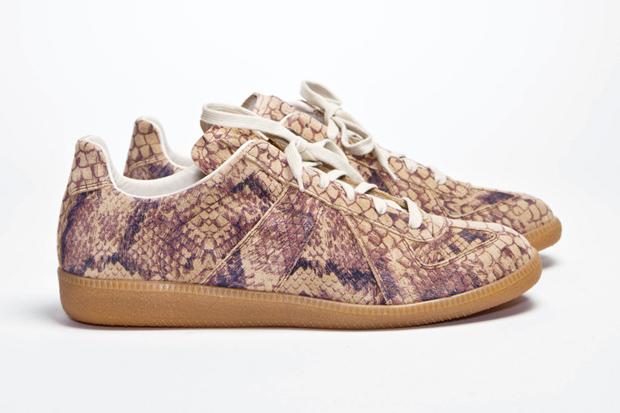 Maison Martin Margiela Replica Snakeskin Sneaker