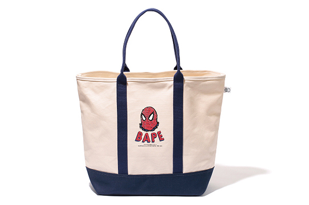 marvel comics x a bathing ape 2012 spider man capsule collection