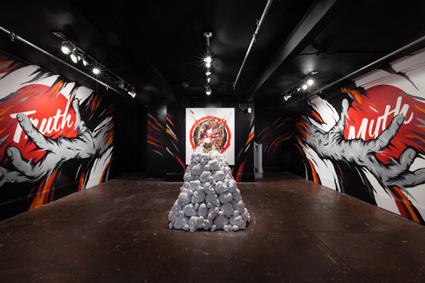 "MEGGS ""Truth in Myth"" Exhibition @ White Walls San Francisco Recap"
